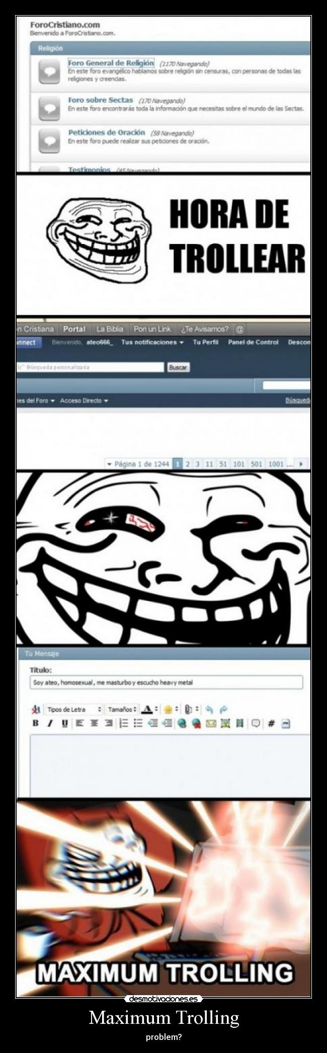 Maximum Trolling -