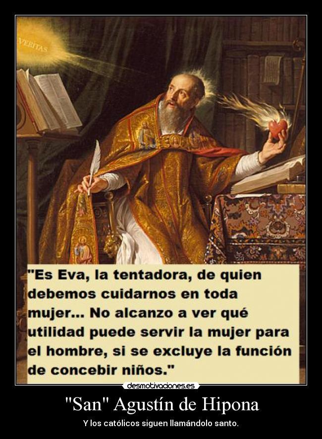 San Agustín De Hipona Desmotivaciones