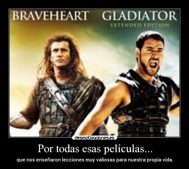 Imágenes Y Carteles De Gladiator Pag 20 Desmotivaciones
