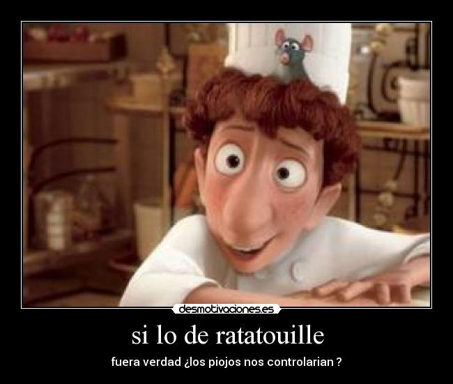 Imagenes Y Carteles De Ratatouille Pag 2 Desmotivaciones