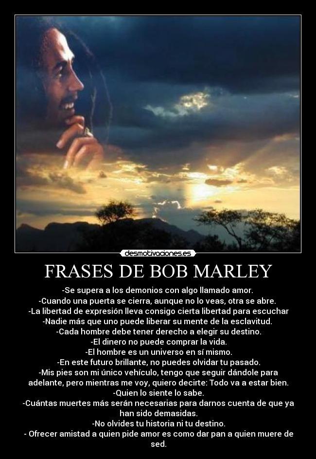 Frases De Bob Marley Desmotivaciones