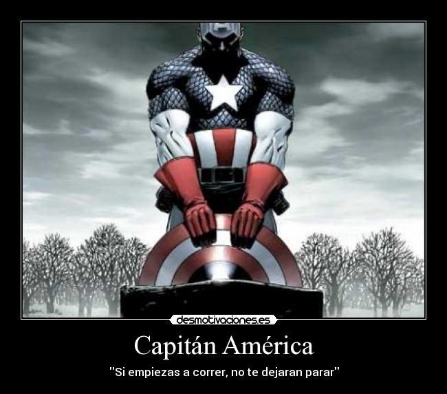Capitán América Desmotivaciones