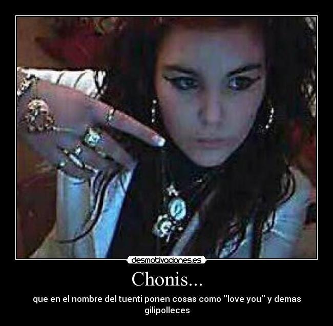 Chonis Desmotivaciones
