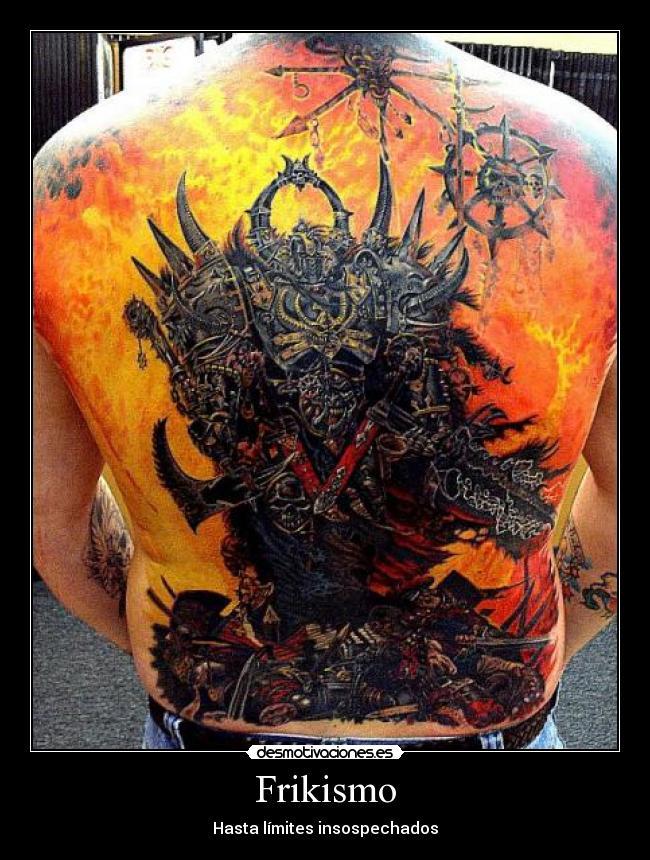 tatuajes warhammer