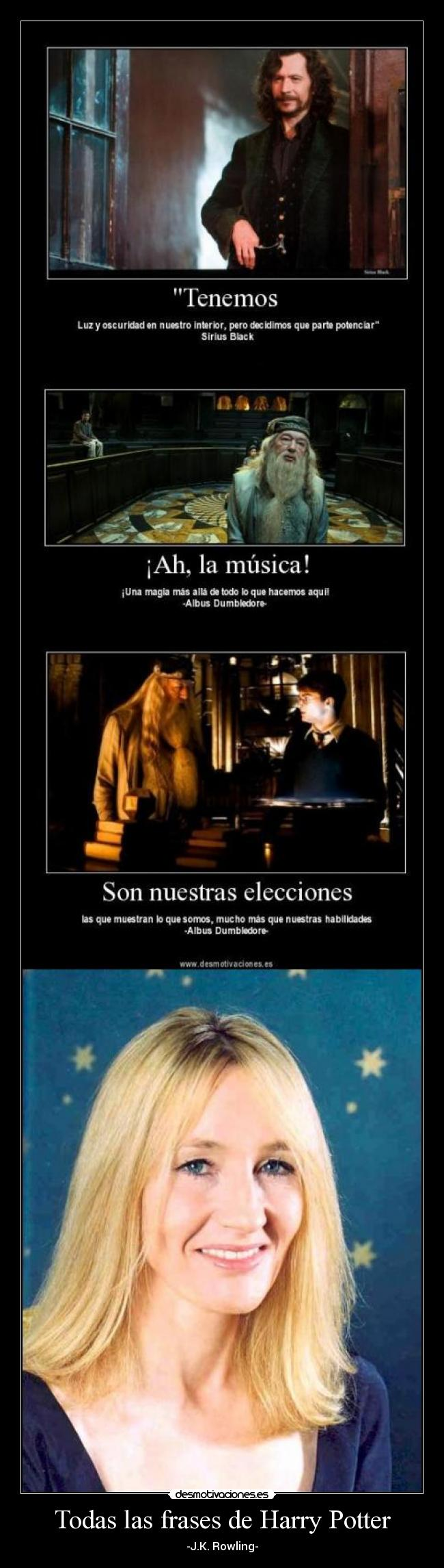 Todas las frases de Harry Potter -