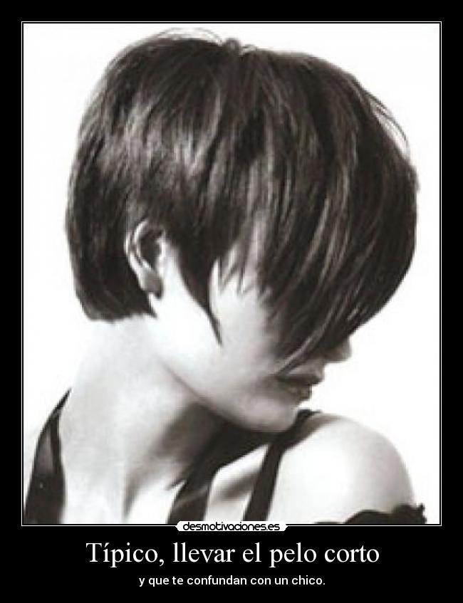 Anime pelo corto mujer