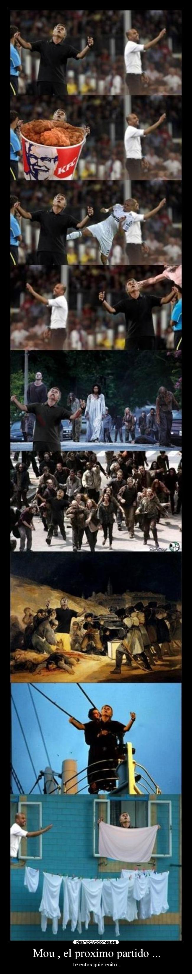 carteles mou mou futbol the walking dead desmotivaciones