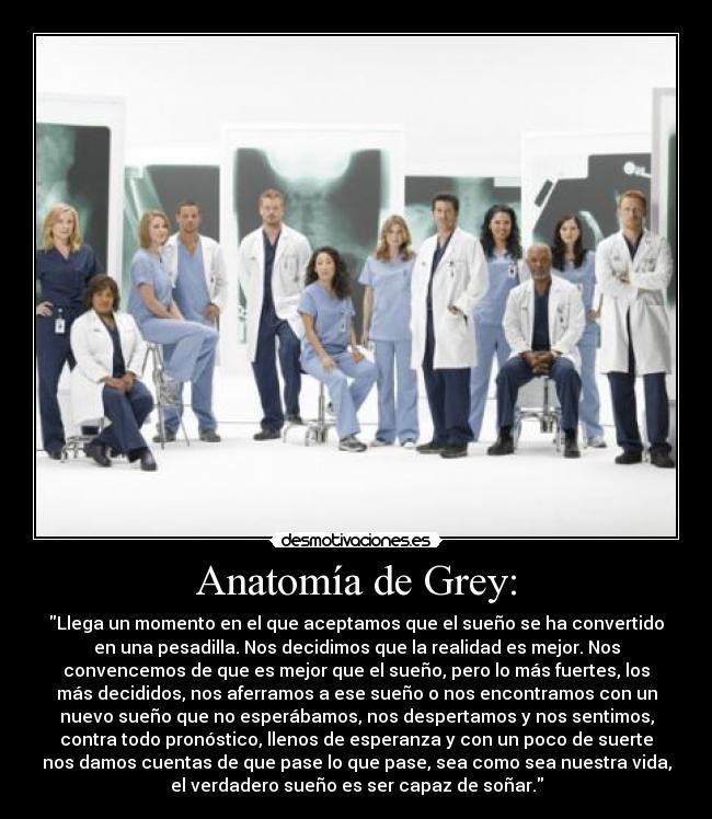 Anatomía de Grey: | Desmotivaciones