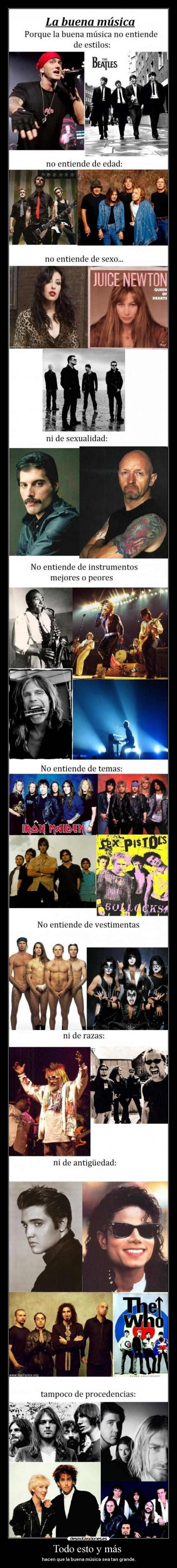 carteles buena musica folk rock rap metal country pop desmotivaciones