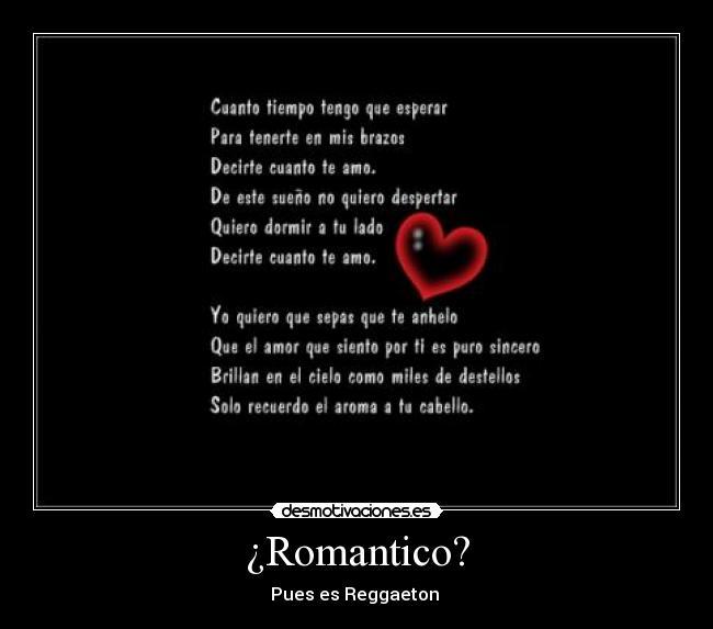 Romantico Desmotivaciones