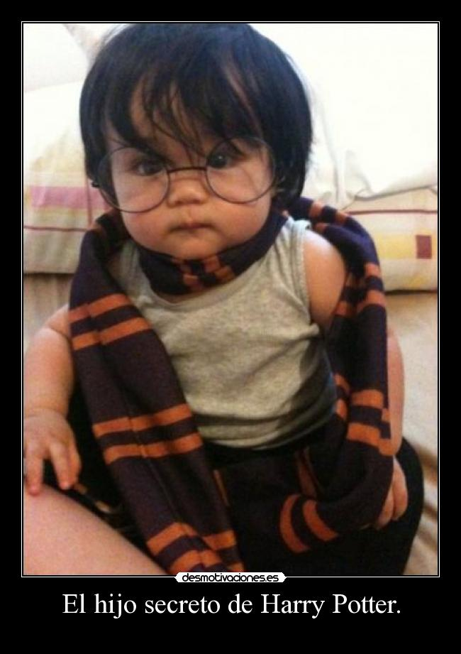 El hijo secreto de Harry Potter. -