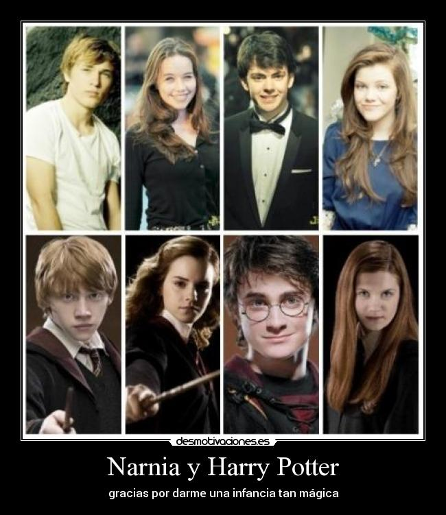 Narnia y Harry Potter -