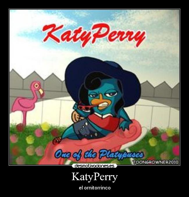 KatyPerry - el ornitorrinco
