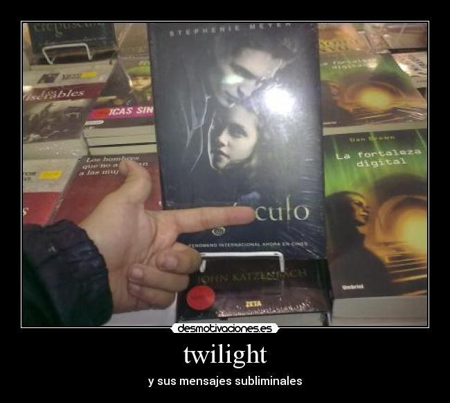 Twilight Desmotivaciones