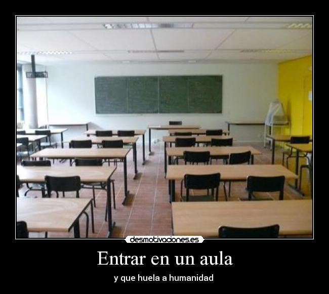 erección en el aula