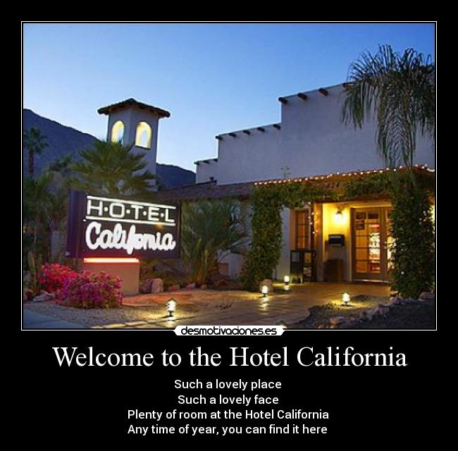 Nudist hotel california