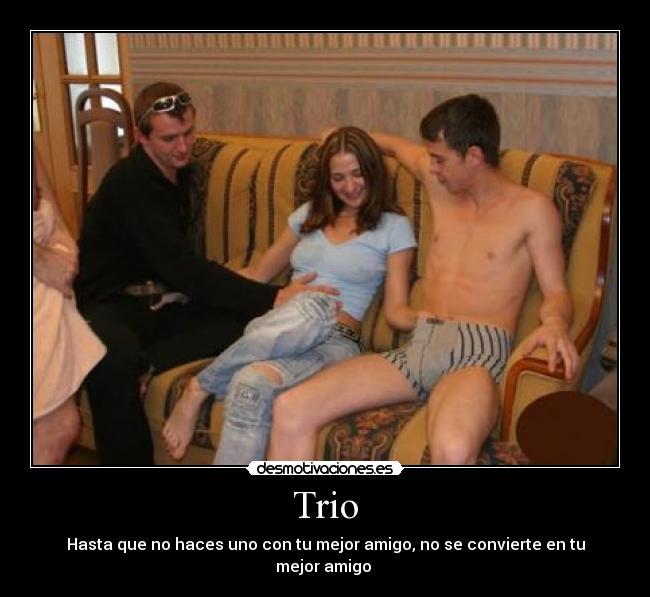 Trio bisexual de mujeres - 1 part 1
