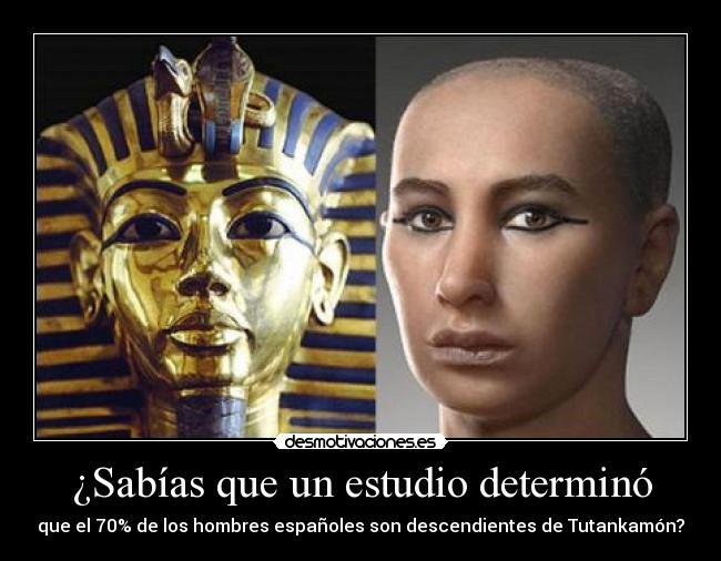 Imágenes Y Carteles De Tutankamon Desmotivaciones