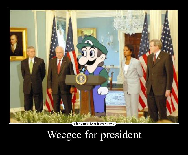 Weegee for president -