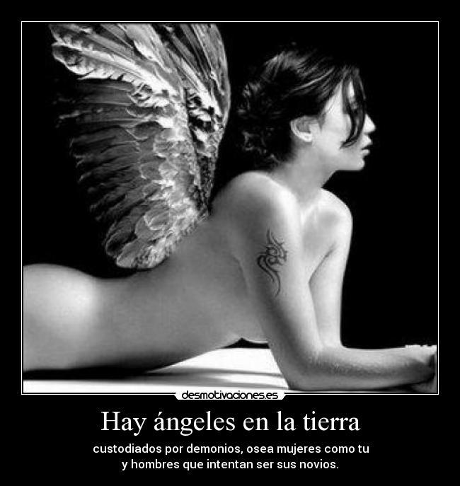 Hay ángeles En La Tierra Desmotivaciones