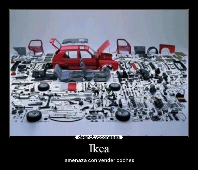 Ikea - amenaza con vender coches