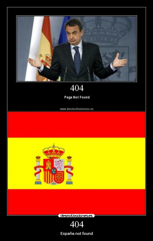 404 - España not found