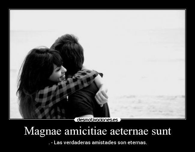Magnae Amicitiae Aeternae Sunt Desmotivaciones