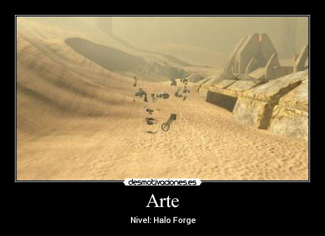 Arte - Nivel: Halo Forge