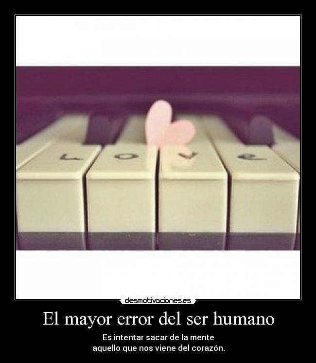 El mayor error del ser humano | Desmotivaciones