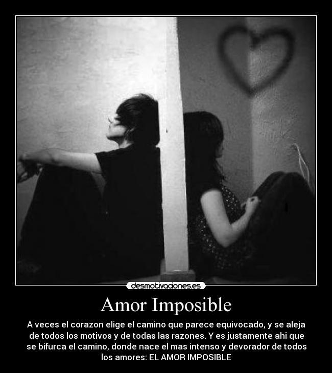 Amor Imposible Desmotivaciones