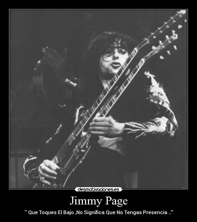 Jimmy Page Desmotivaciones