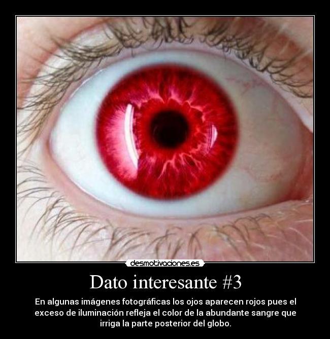 ojo rojo color sangre