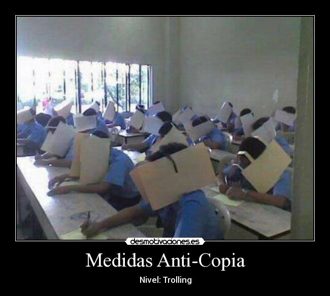 Medidas Anti-Copia - Nivel: Trolling