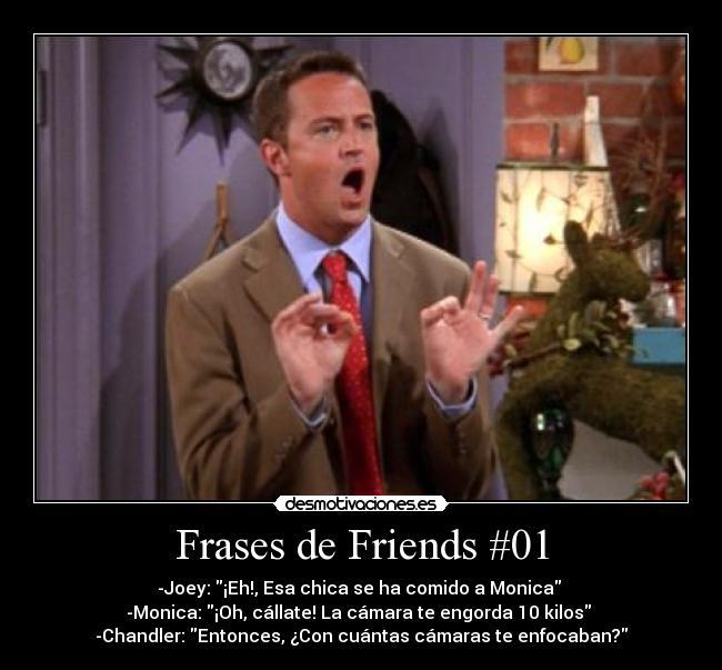 Frases De Friends 01 Desmotivaciones
