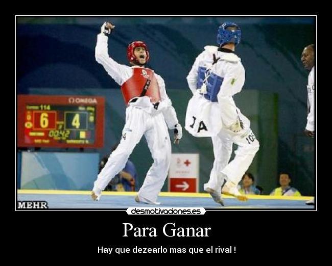 Imágenes Y Carteles De Taekwondo Pag 31 Desmotivaciones