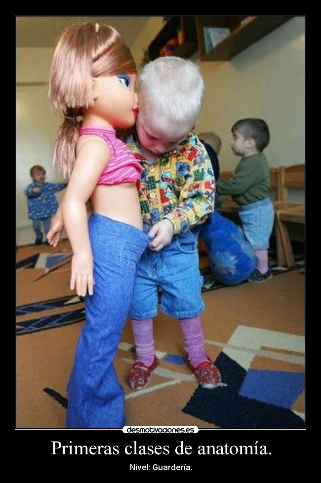 Primeras clases de anatomía. | Desmotivaciones