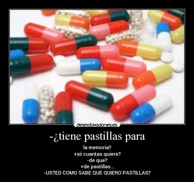 Memoria la pastillas para