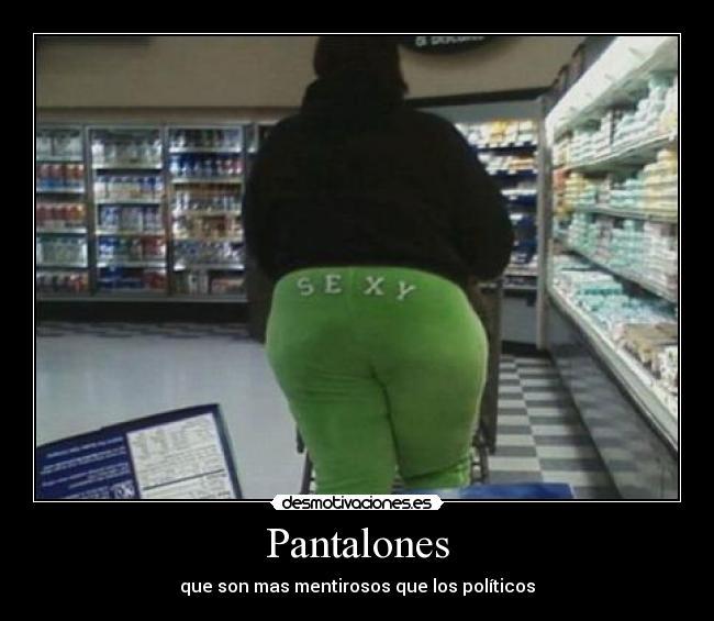 Imágenes y Carteles de PANTALONES Pag. 10  0c207f7a6347