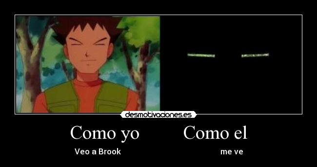 carteles brook pokemon desmotivaciones