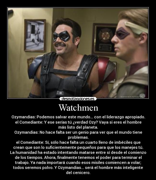 Watchmen Desmotivaciones