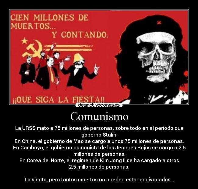 carteles comunismo comunidad internacional marx che guevara fidel castro stalin mao desmotivaciones