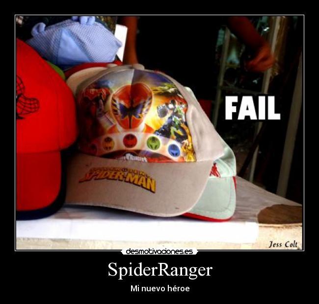 01f06d5dad8fd carteles heroe power ranger spiderman gorra kepi paraguay jess colt  desmotivaciones