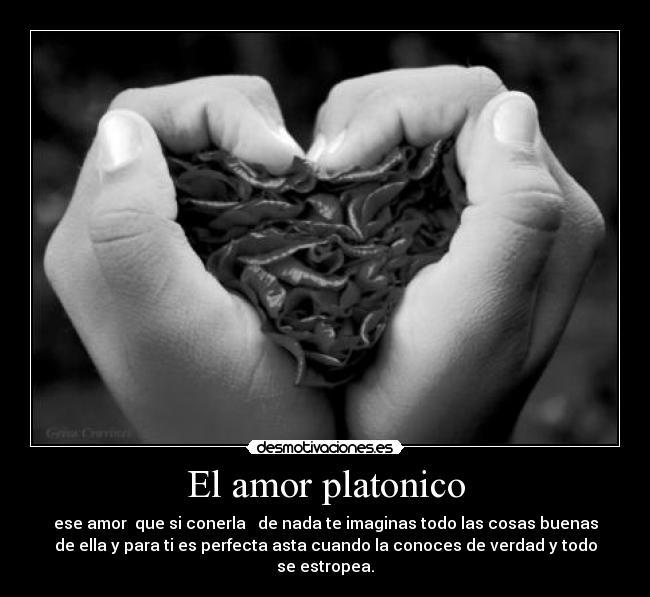 El Amor Platonico Desmotivaciones
