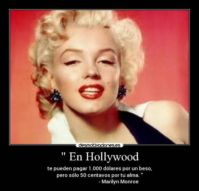En Hollywood Desmotivaciones