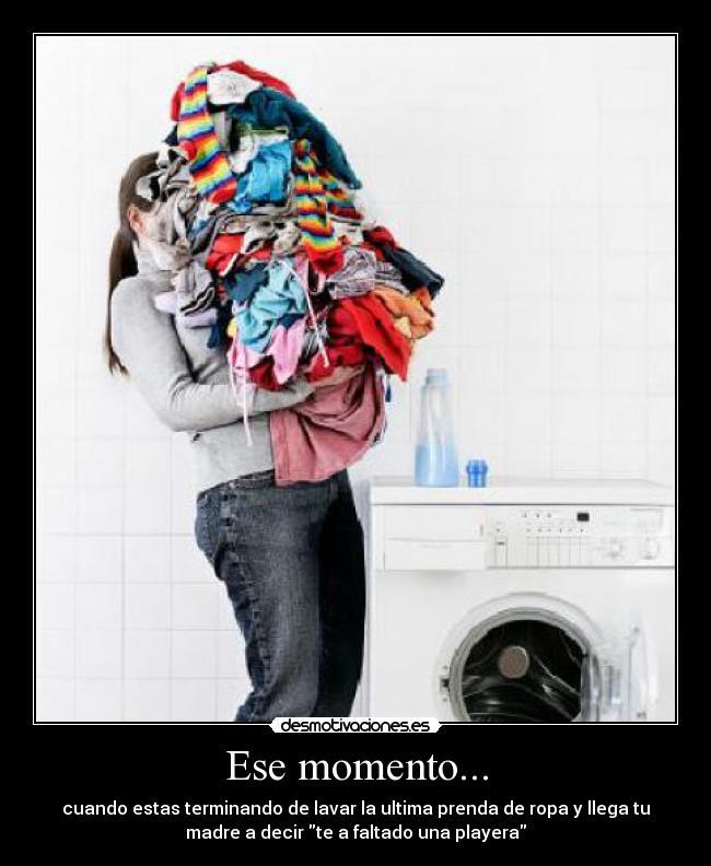 Lavar Ropa Meme