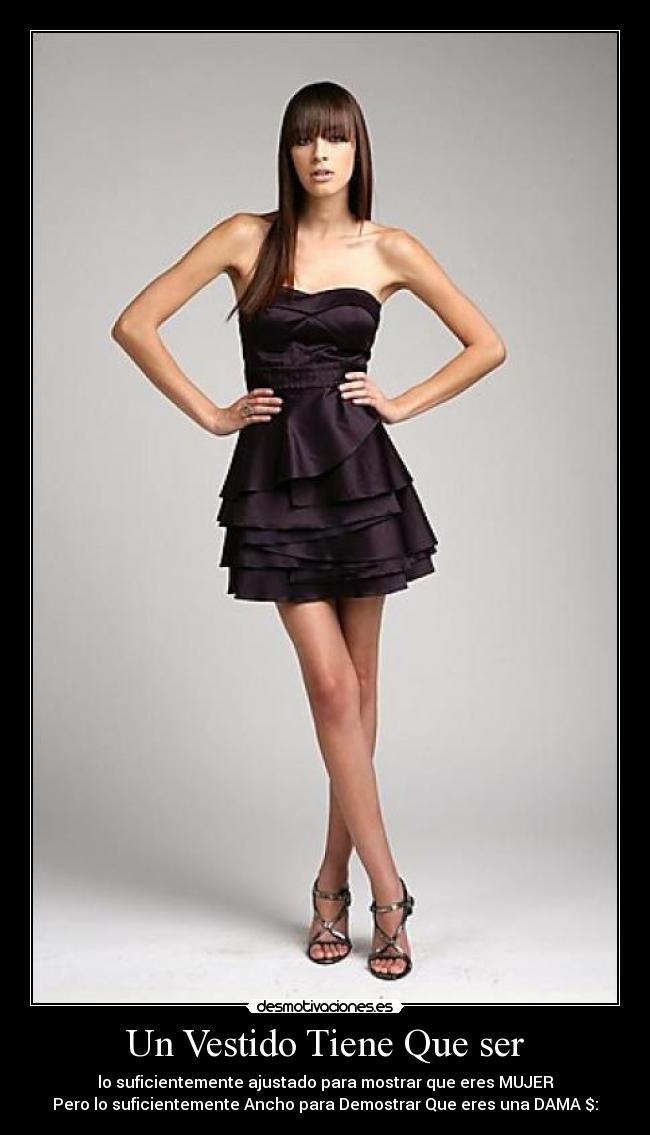 carteles vestido tiene que ser desmotivaciones d5d5f58e2c9