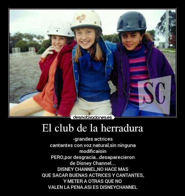 El Club De La Herradura Desmotivaciones