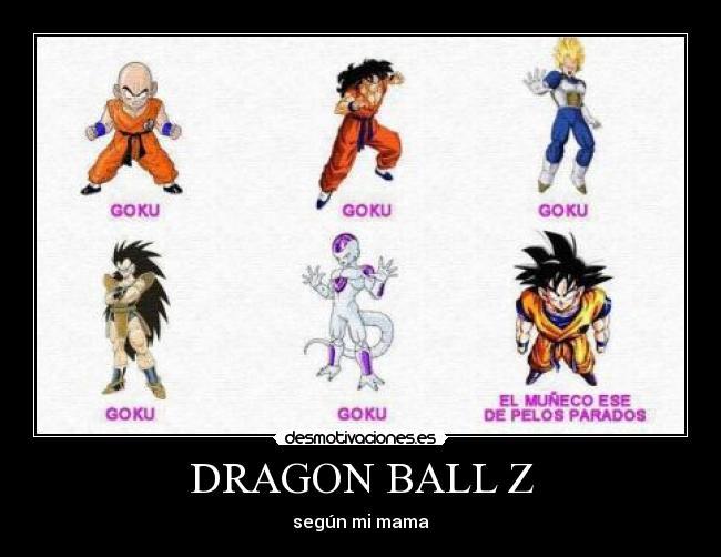 Dragon Ball Z Desmotivaciones