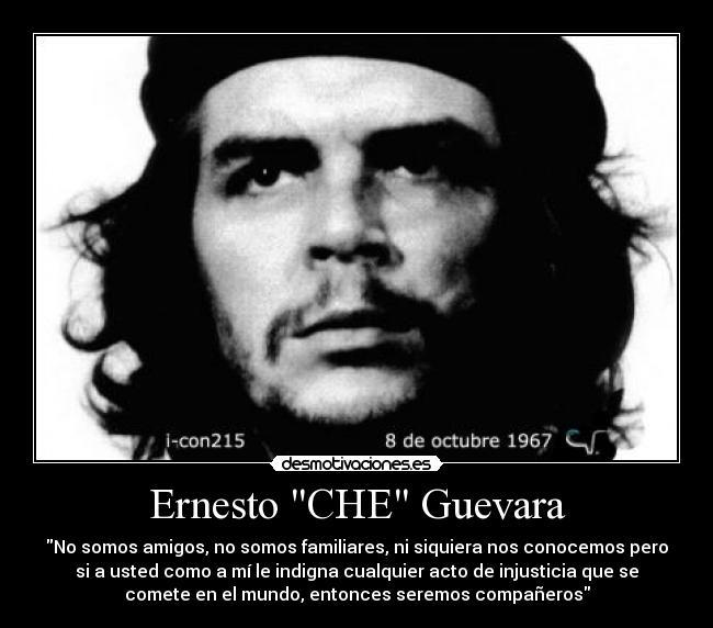 Ernesto Che Guevara Desmotivaciones