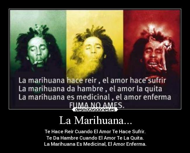 La Marihuana Desmotivaciones